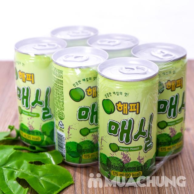 Set 6 lon nước mơ nhập khẩu Hàn Quốc 175ml/ lon  - 11