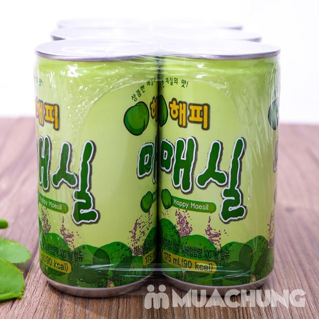 Set 6 lon nước mơ nhập khẩu Hàn Quốc 175ml/ lon  - 8