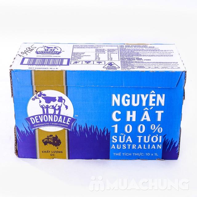 1 thùng/10 hộp sữa tươi Devondale nguyên kem NK Úc - 14