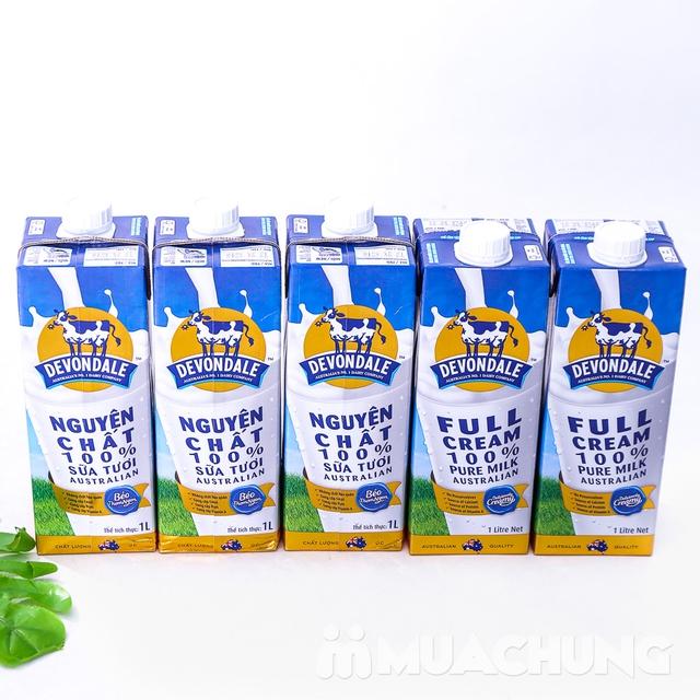 1 thùng/10 hộp sữa tươi Devondale nguyên kem NK Úc - 15