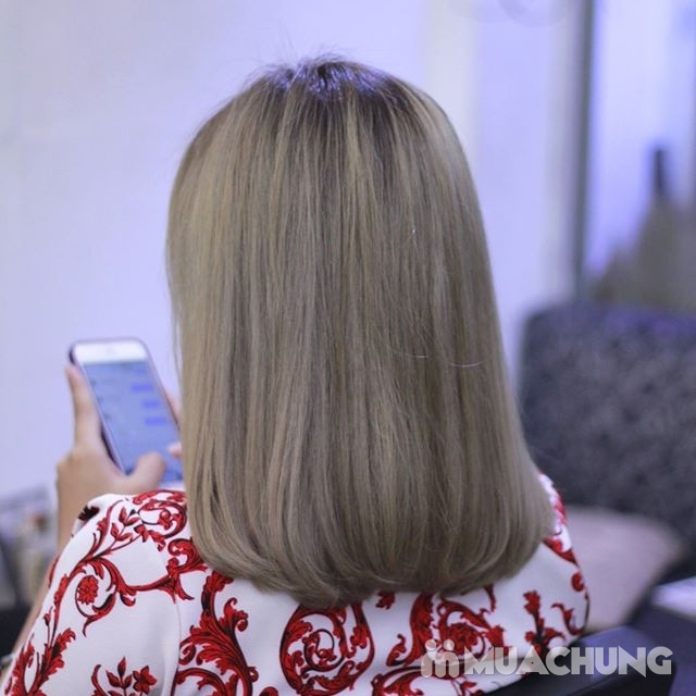Trọn gói làm tóc đón năm mới-Hair Salon Trang Bông - 7