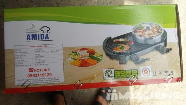Bếp lẩu nướng Amida 2 giắc cắm - 3