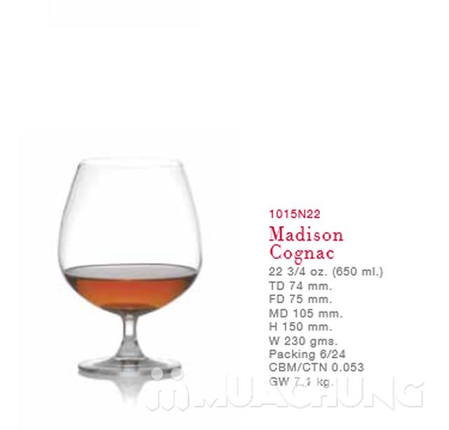 Bộ 6 ly rượu bầu thủy tinh Ocean - 1