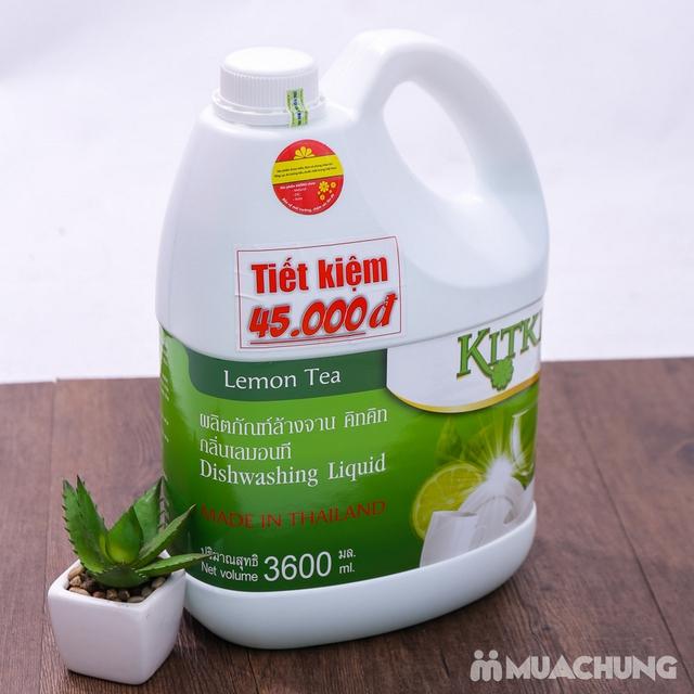 Nước rửa chén KitKit nhập khẩu 100% Thái Lan 3.6L - 9