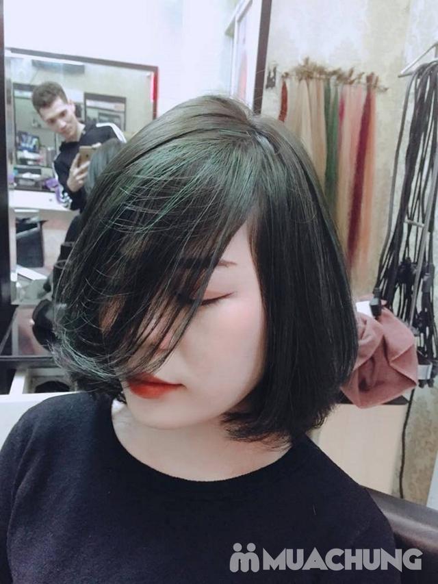 Trọn gói cắt gội + hấp phục hồi Kerantin siêu mượt Salon Hà Nguyễn - 4