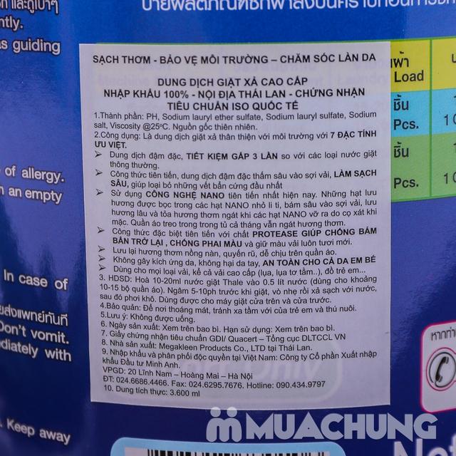 Nước giặt nội địa Thái Lan tiêu chuẩn Quốc tế 3.6L - 9