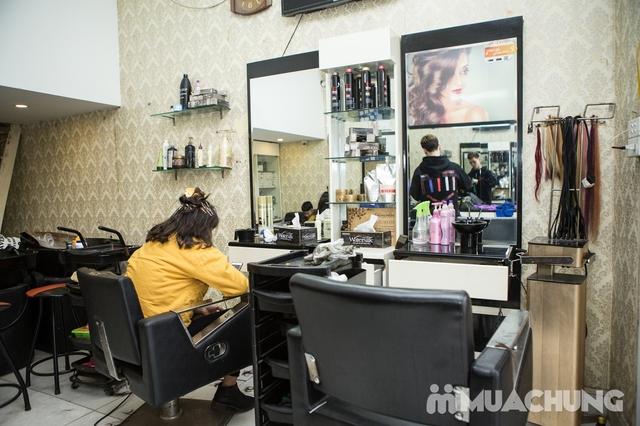 Trọn gói cắt gội + hấp phục hồi Kerantin siêu mượt Salon Hà Nguyễn - 11