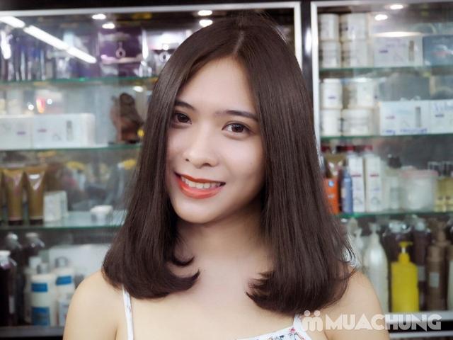 Trọn gói cắt gội + hấp phục hồi Kerantin siêu mượt Salon Hà Nguyễn - 2