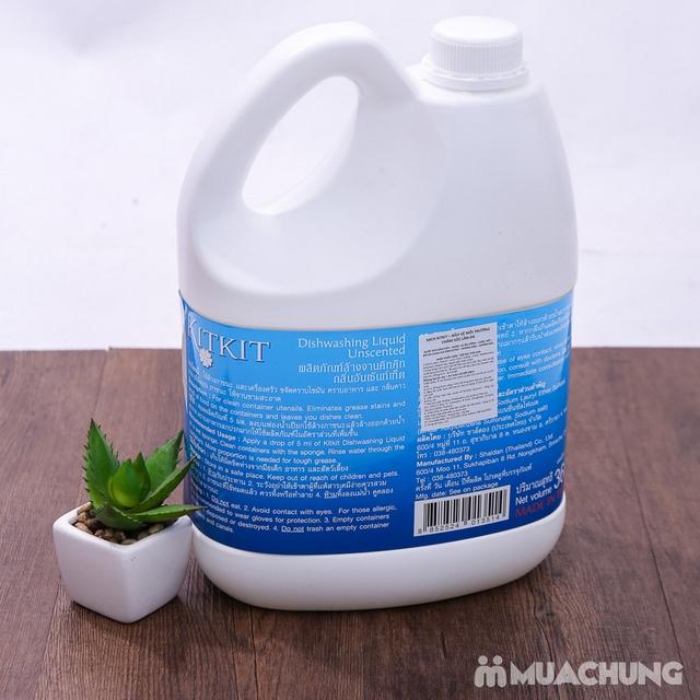 Nước rửa chén KitKit nhập khẩu 100% Thái Lan 3.6L - 10