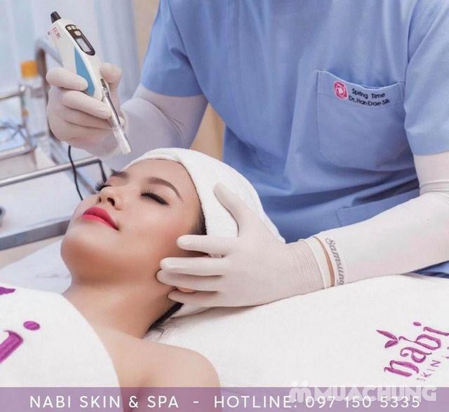 Chăm sóc da mặt dưỡng trắng, cấp ẩm chuyên sâu Nabi Skin & Spa - 10
