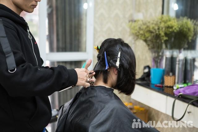 Trọn gói cắt gội + hấp phục hồi Kerantin siêu mượt Salon Hà Nguyễn - 9