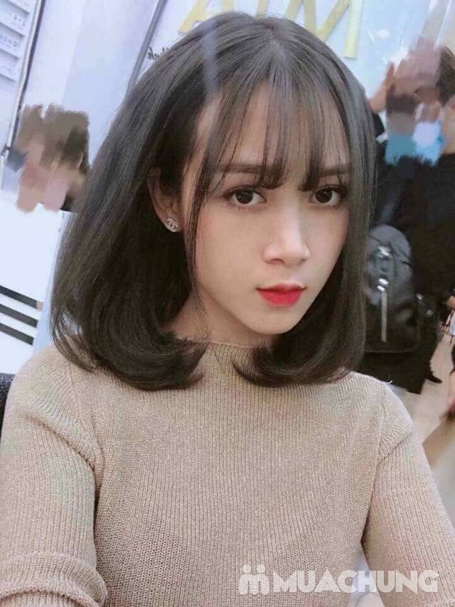 Trọn gói cắt gội + hấp phục hồi Kerantin siêu mượt Salon Hà Nguyễn - 12