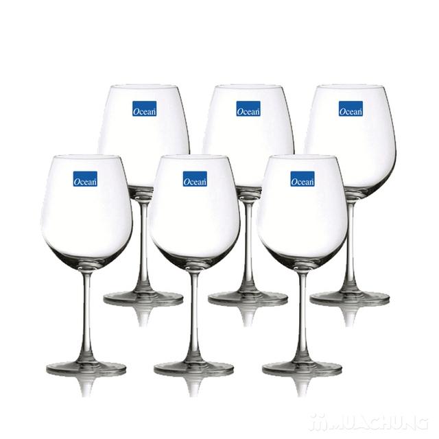 Bộ 6 ly rượu cao thủy tinh Ocean - 1