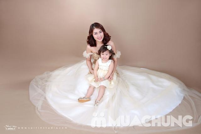 Gói chụp ảnh nghệ thuật cho mẹ và bé-Suitin Studio - 12