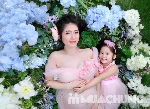 Gói chụp ảnh nghệ thuật cho mẹ và bé-Suitin Studio - 18