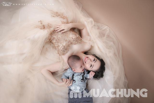 Gói chụp ảnh nghệ thuật cho mẹ và bé-Suitin Studio - 4