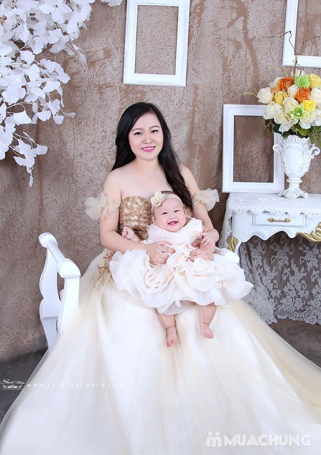 Gói chụp ảnh nghệ thuật cho mẹ và bé-Suitin Studio - 8