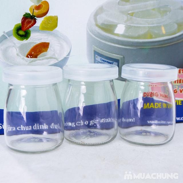 Máy làm sữa chua 8 cốc thủy tinh Chefman CM302 - 4