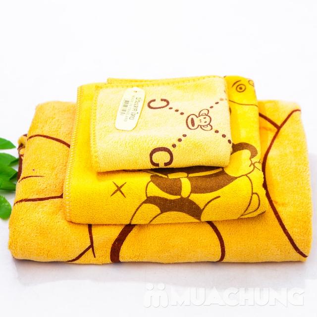 Bộ 3 khăn tắm, khăn mặt, khăn gội - NK Thái Lan    - 11