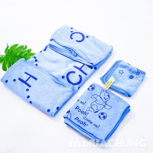 Bộ 3 khăn tắm, khăn mặt, khăn gội - NK Thái Lan    - 13