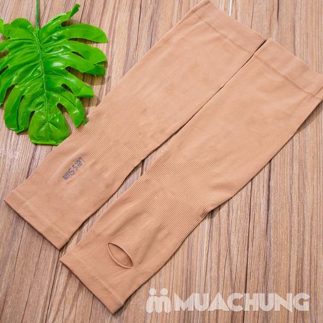 2 đôi găng tay ống chống nắng tản nhiệt Hàn Quốc - 2