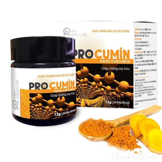 12g tinh bột nghệ Procumin giúp chống oxy hóa  - 9