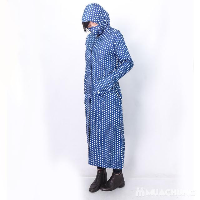 Váy chống nắng toàn thân mặc 2 mặt kèm khẩu trang - 18