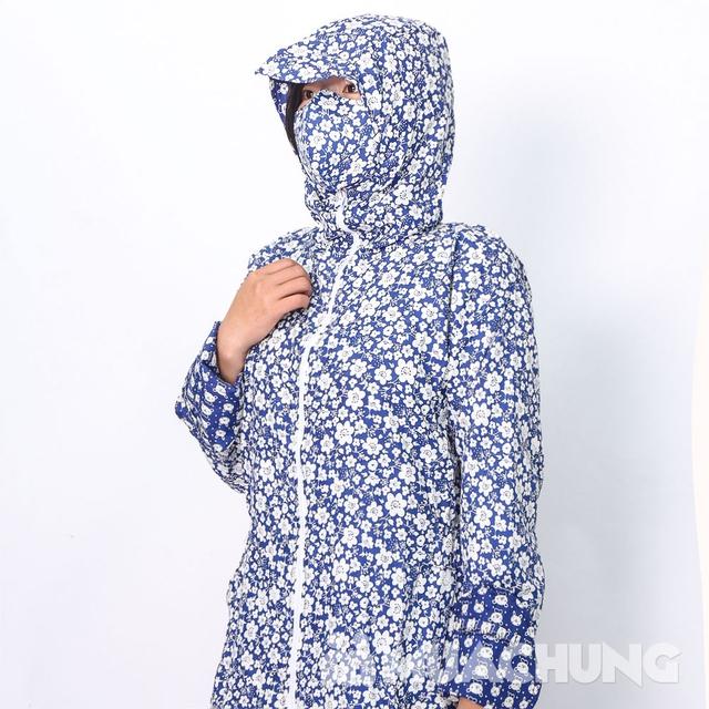 Váy chống nắng toàn thân mặc 2 mặt kèm khẩu trang - 17
