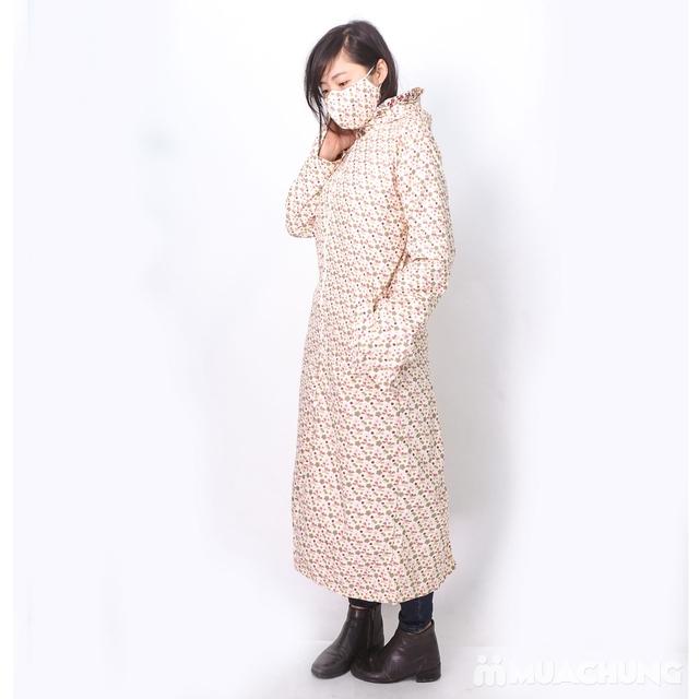 Váy chống nắng toàn thân mặc 2 mặt kèm khẩu trang - 11