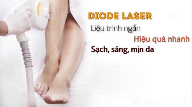 Triệt lông vĩnh viễn công nghệ vượt trội Diode Lazer _BH trọn đời - 3