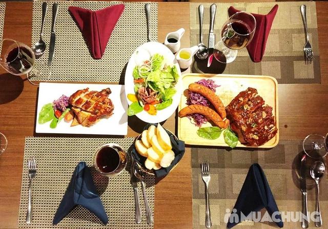 Sườn heo nướng tảng BBQ + Gà + Xúc xích Châu Âu 4* Authentic Panorama - 6