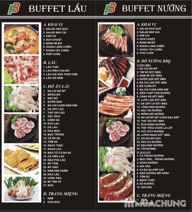 Buffet Lẩu Nướng tại NH Nướng F3 BBQ Phạm Văn Đồng - 1