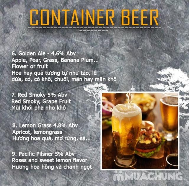 Voucher giảm giá toàn Menu tại NH Container Beer  - 14
