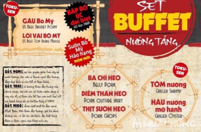 Buffet Nướng Tảng Mr.Yaki Tặng Đồ Uống - Menu Mới - 9