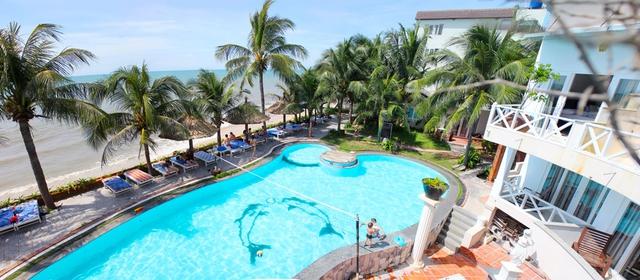 Paradise Resort Mũi Né 3* - Giá ưu đãi mùa hè + kèm ăn sáng cho 2 khách - 1