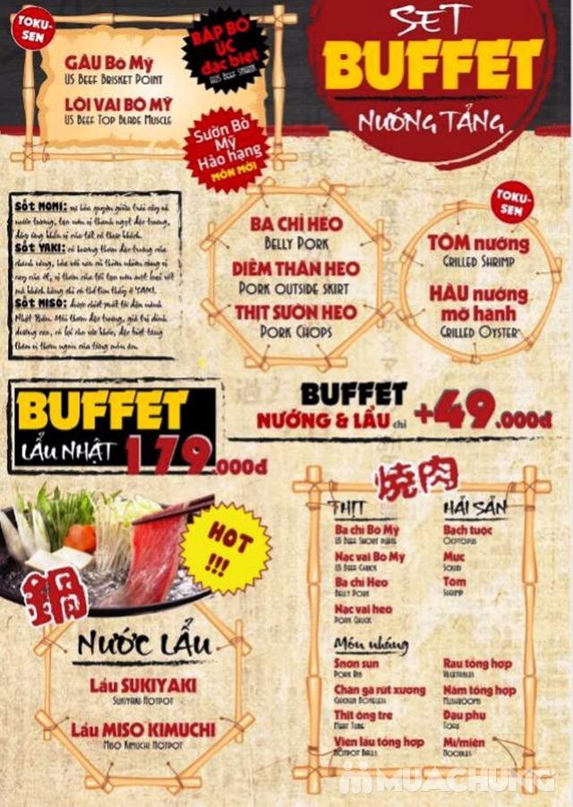 Buffet Nướng Tảng Và Lẩu Tại NH Mr. Yaki - Tặng Đồ Uống - 13