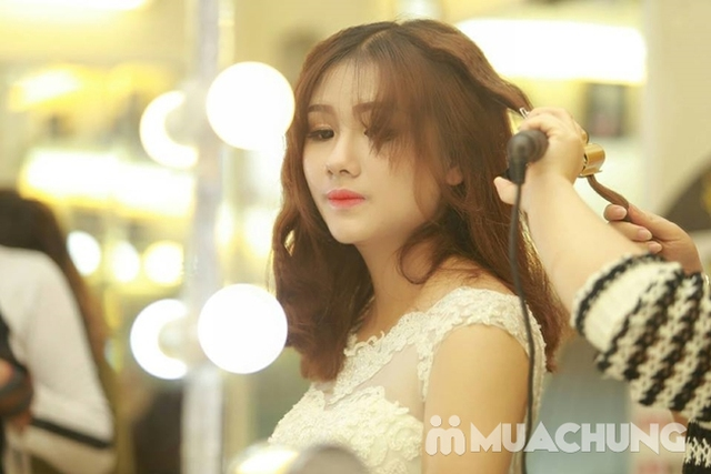 Make up chuyên nghiệp đi chơi, party, chụp hình thời trang, cưới hỏi kèm làm tóc - Học viện tóc Nhất Phong Andrew - 1