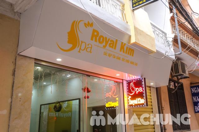 Điều trị mụn, kháng viêm, dưỡng sáng mịn da Royal Kim Spa - 6