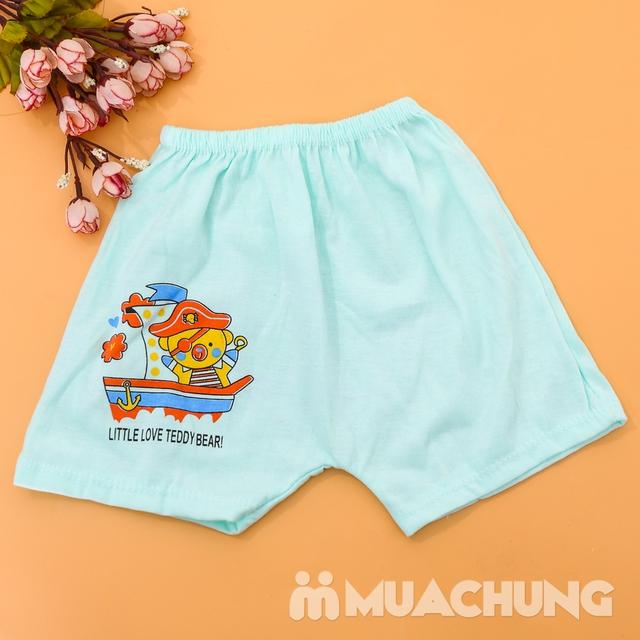 Combo 10 quần đùi cotton in hình xinh xắn cho bé - 10