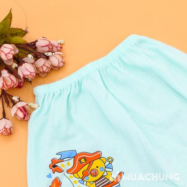 Combo 10 quần đùi cotton in hình xinh xắn cho bé - 2