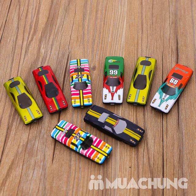 Vỉ 50 ô tô nhiều màu - Bộ sưu tập xe của bé - 5
