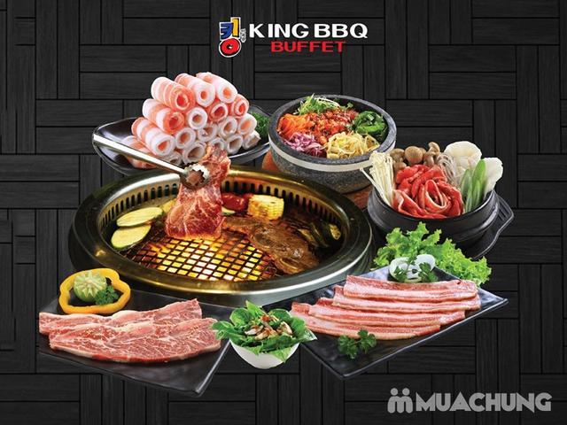 King BBQ 329K, Buffet Nướng Lẩu Đẳng Cấp, Không Phụ Thu Cuối Tuần, CS Đào Tấn - 3