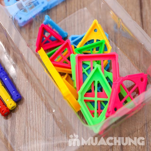 Bồ đồ chơi nam châm lắp ghép 50 chi tiết cho bé - 11