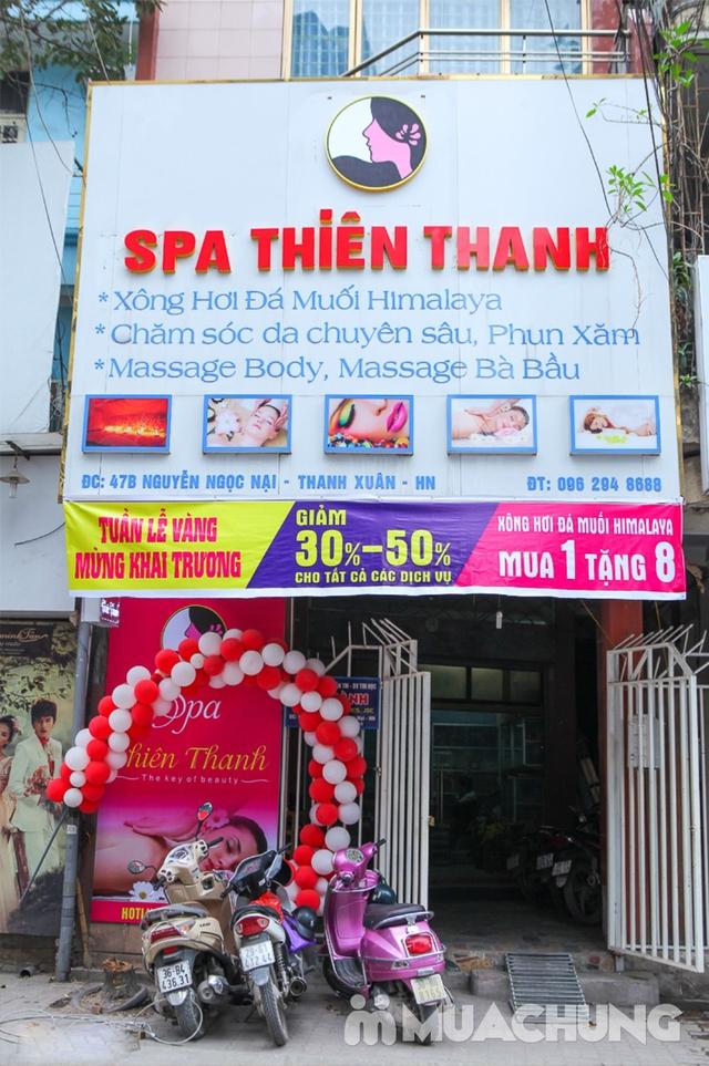 Combo Xông hơi đá muối Hàn Quốc và massage body 120' Thiên Thanh Beauty & Spa - 24