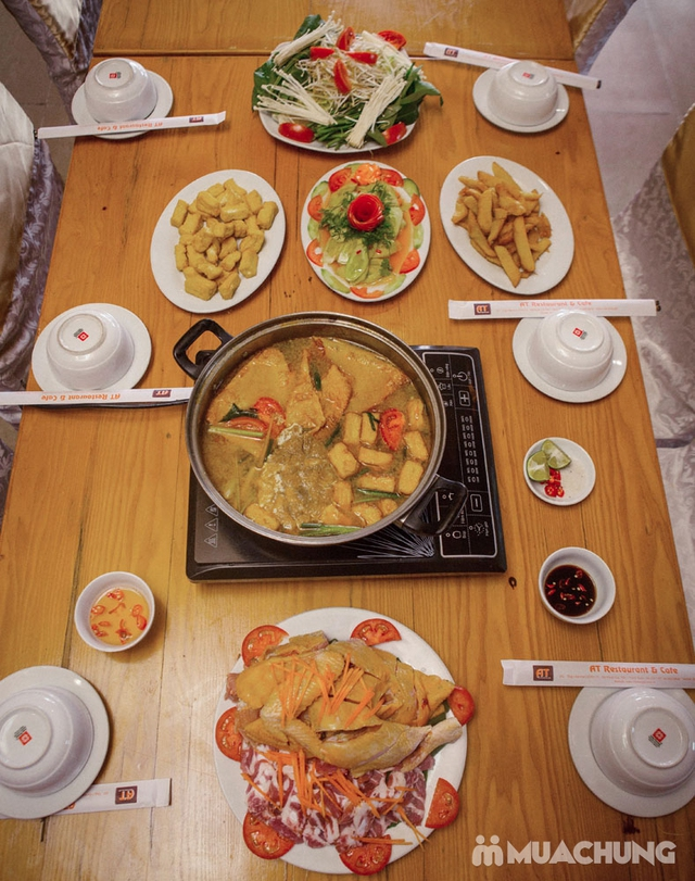 Set Lẩu gà riêu cua đặc biệt cho 4N- AT Restaurant - 3