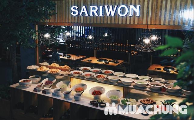 Buffet nướng lẩu Hàn Quốc thượng hạng NH Sariwon - 8