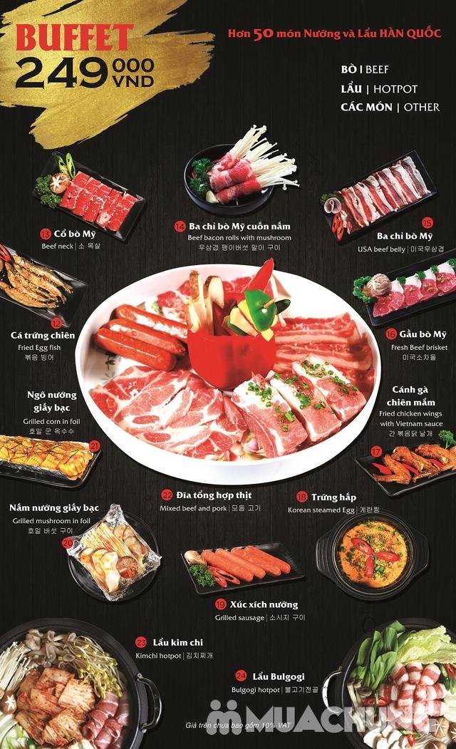 Buffet nướng lẩu Hàn Quốc thượng hạng NH Sariwon - 24