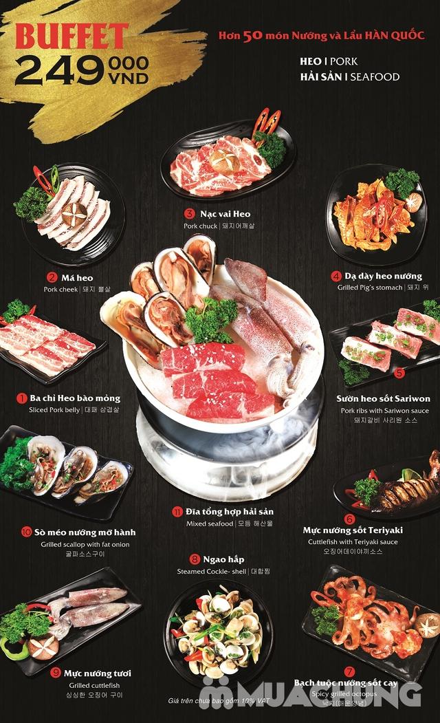 Buffet nướng lẩu Hàn Quốc thượng hạng NH Sariwon - 23