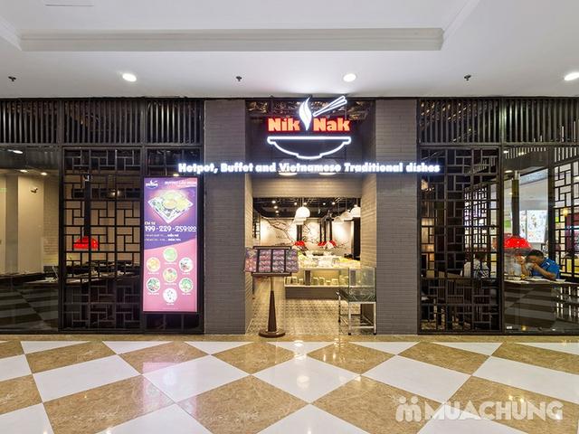Buffet lẩu hơn 40 món nhúng tặng kem Fanny + Pepsi Buffet Nik Nak Times City - 16