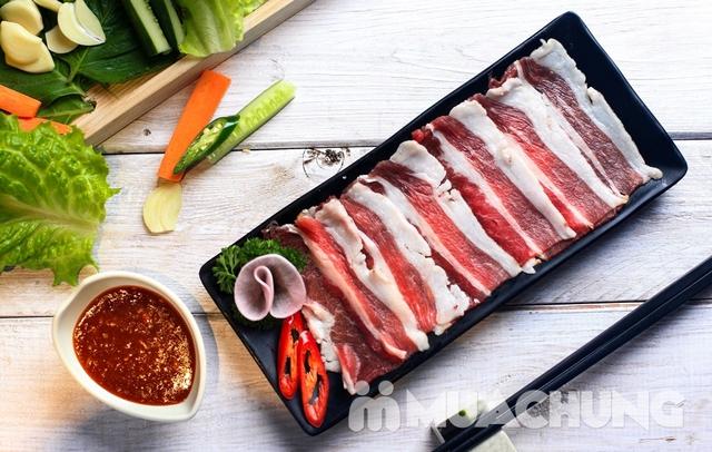 Buffet nướng lẩu Hàn Quốc thượng hạng NH Sariwon - 1